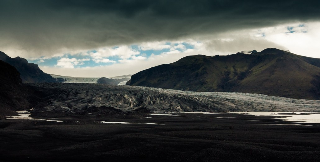 Sur la route de Skaftafell