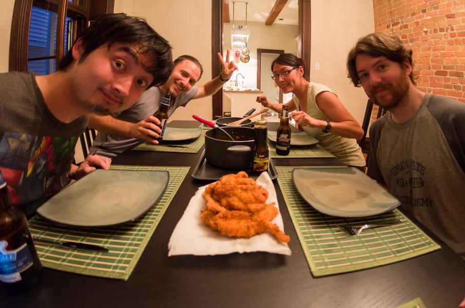 Chicken Katsu curry from Mr Ken