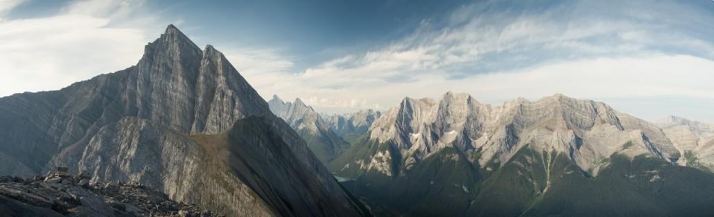 Ha Ling peak 2407m, Canmore, AB