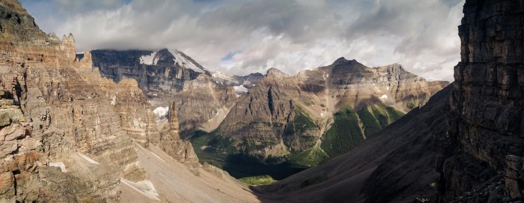Sentinel Pass et Lake Moraine