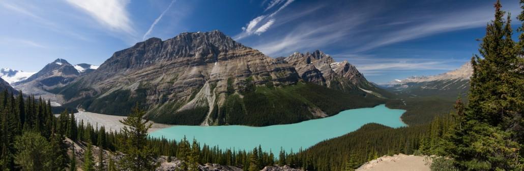 Athabasca vers Yoho national parc