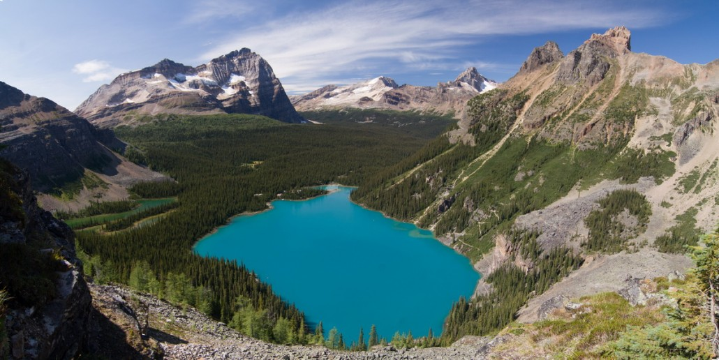 O'hara lake, Yoho national parc