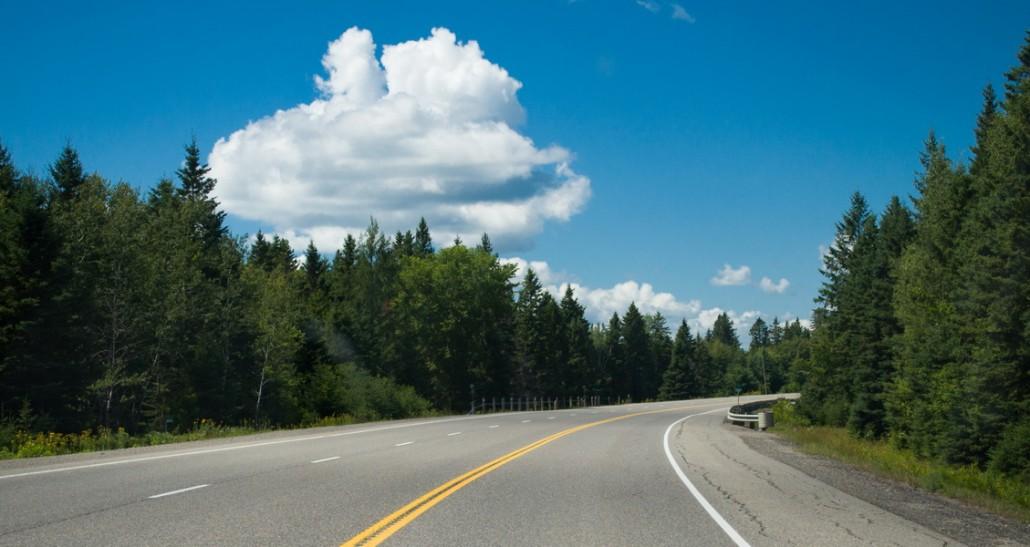 route 17 vers Sault Sainte Marie