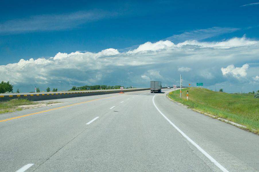 Route 1 vers Regina