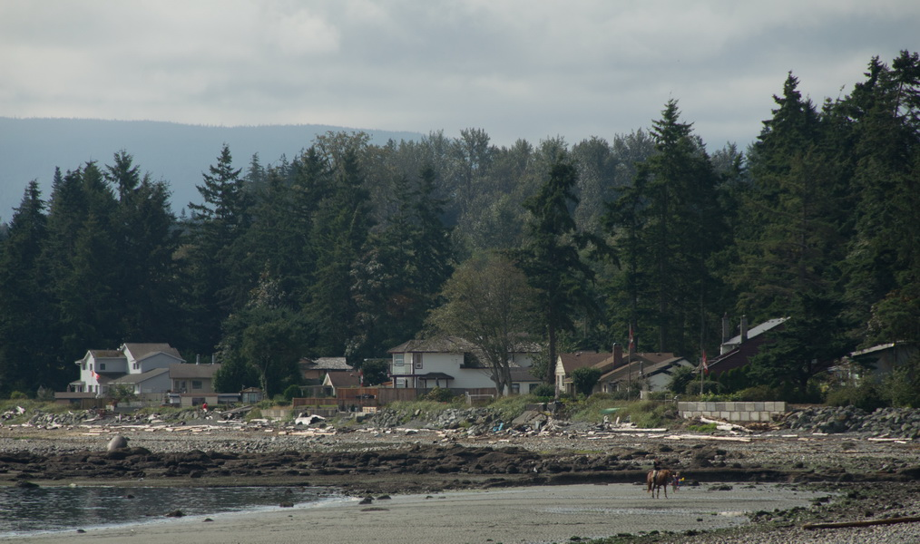 Miracle beach et Campbell river