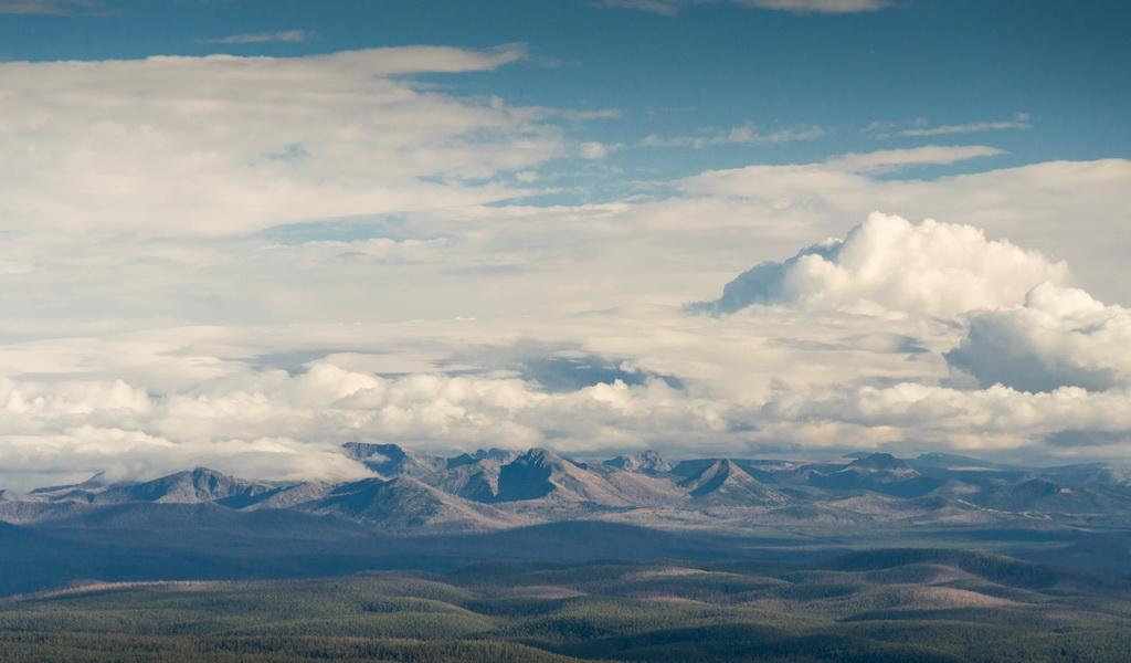 Yellowstone – Mt Washburn