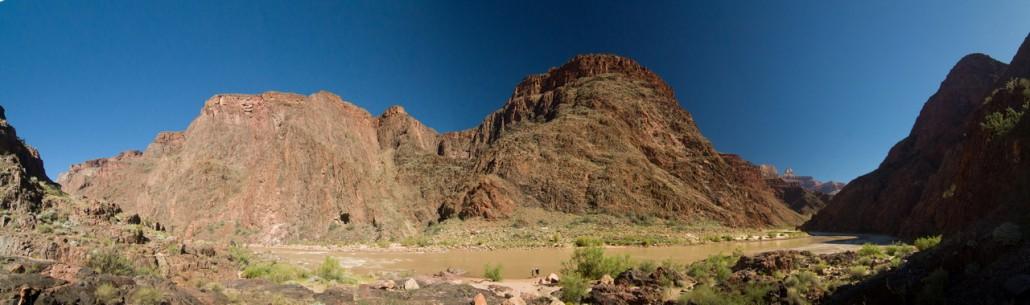 Jusqu'au fond du Grand Canyon