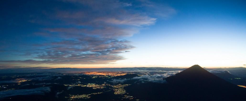 Volcan Acatenango alt. 3975m