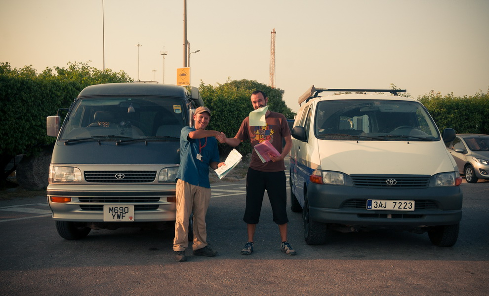 Recuperation du van, part3