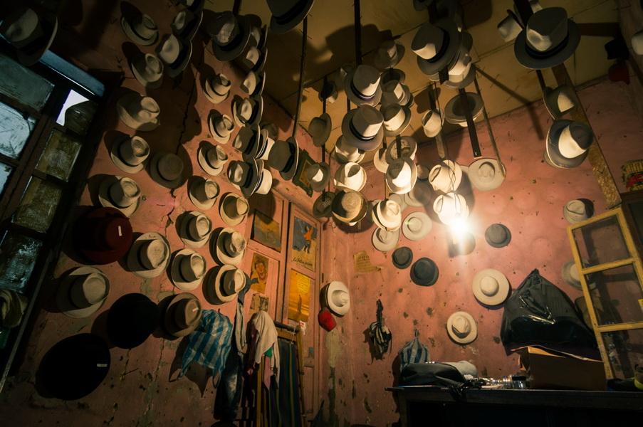 Cuenca, la casa del sombrero