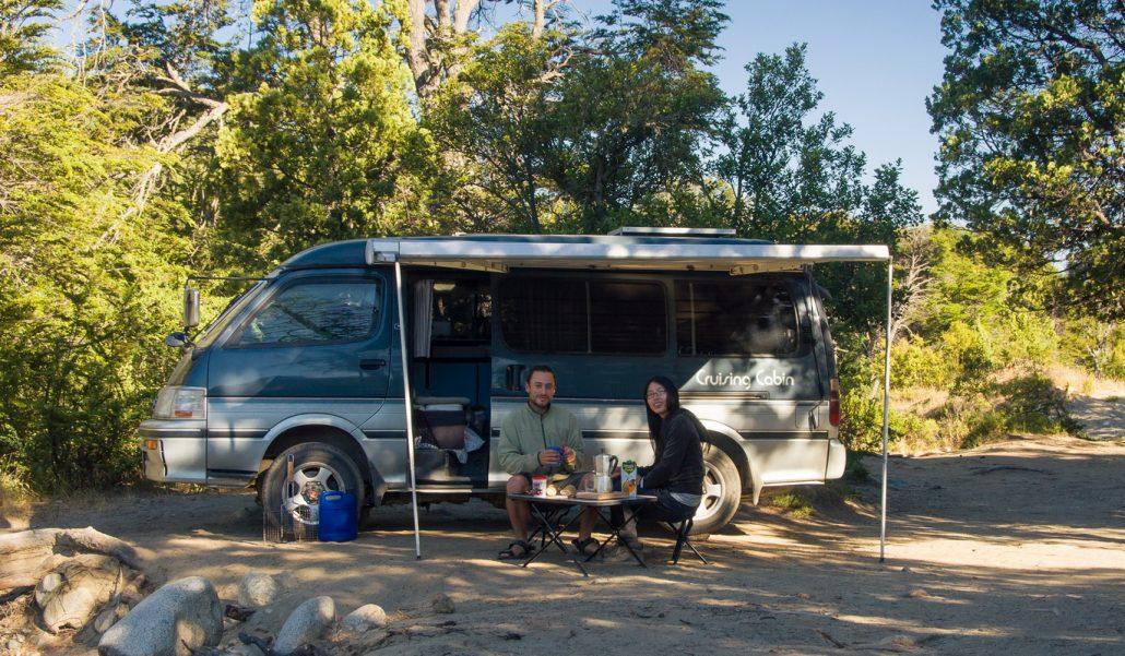 camping libre in Bariloche