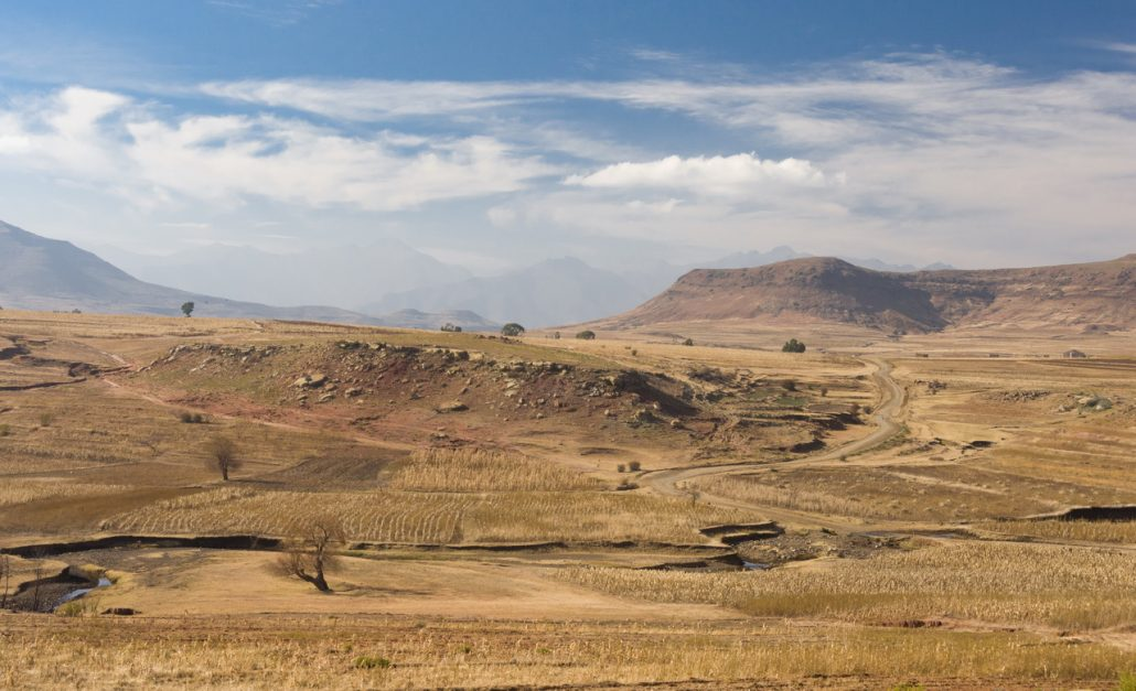 First steps in Lesotho